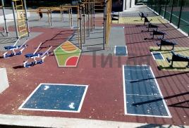 Спортивная площадка для Пензенского Государственного Университета